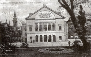 Das Alte Theater 1906. Foto: Wikimedia Common