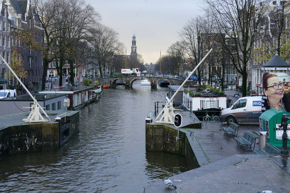 Hermann Luyken: Prinsengracht with Westerkerk in the background - Amsterdam, 25.11.2015 (3)
